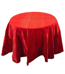 "Katherine's Collection Noel Christmas Collection 96"" Noel Reversible Tablecloth Red/Green Free Ship"