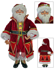 "Katherine's Collection Noel Christmas Collection 24"" Noel Santa Claus Doll Free Ship"
