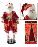 "Katherine's Collection Noel Christmas Collection 32"" Noel Santa Claus Doll Free Ship"