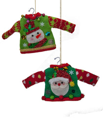 "Katherine's Collection Noel Christmas Collection Set Twelve Assorted Approx 5"" Ugly Sweater Ornaments Free Ship"