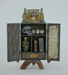 "Katherine's Collection Spellbound Halloween Collection 18"" Potions Cabinet Free Ship"