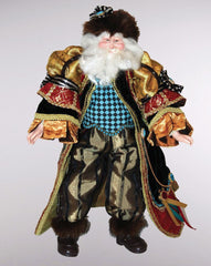 "Katherine's Collection Woodlanders Christmas Collection Approx 20"" Renaissance Santa Claus Doll Free Ship-IN STOCK"