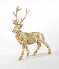 "Katherine's Collection Holiday Cheer Christmas Collection Twelve 10"" Rhinestone Table Top Deer Free Ship"