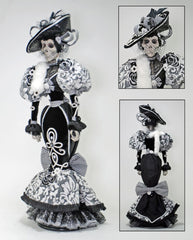 "Katherine's Collection Frida Love Halloween Collection 36"" Rosario Calakita Halloween Skeleton Doll Free Ship"