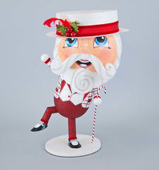 "Katherine's Collection Christmas Spectacular Collection 14 x 21"" Santa Candy Container Free Ship"