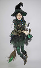 "Katherine's Collection Spellbound Halloween Collection 32"" Witch Doll Free Ship"