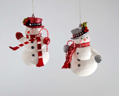"Katherine's Collection Christmas Spectacular Collection Twelve Assort 6"" Snowman Ornaments Free Ship"