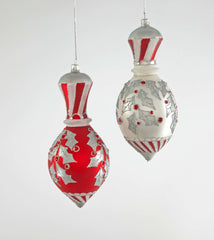 "Katherine's Collection Christmas Spectacular Collection Eight  Assort 8"" Spectacular Cupola Glass Ornaments Free Ship"