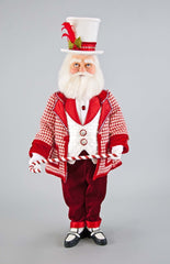 "Katherine's Collection Christmas Spectacular Collection 24"" Spectacular Santa Doll Free Ship"