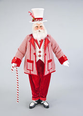 "Katherine's Collection Christmas Spectacular Collection 36"" Spectacular Santa Claus Doll Free Ship 10% OFF SEE STORE FRONT FOR DISCOUNT CODE"