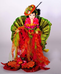 "Katherine's Collection 43"" Japanese Miss Sue Shimi Geisha Mermaid Doll Free Ship-IN STOCK"