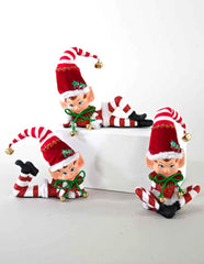 "Katherine's Collection Night Before Christmas Collection Six Assort 7"" Tabletop Elves Free Ship"