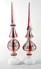 "Katherine's Collection Night Before Christmas Collection Four 17"" Table Top Finials With Lite Free Ship"