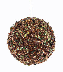 Katherine's Collection Tapestry Christmas Collection Twelve Large 150 mm Encrusted Tapestry Ball Ornaments Free Ship