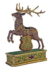 "Katherine's Collection Tapestry Christmas Collection 25"" Regimental Mantle Reindeer Free Ship"