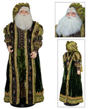 "Katherine's Collection Tapestry Christmas Collection 32"" Tapestry Santa Claus Doll Free Ship"