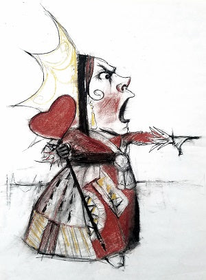 Queen of Hearts Sketch