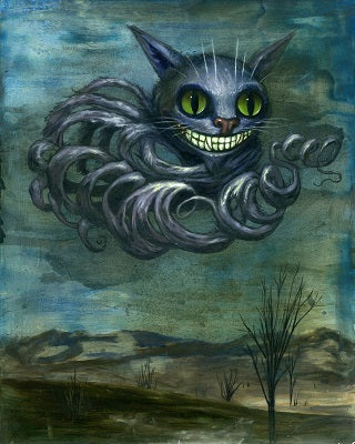 Floating Cheshire Cat