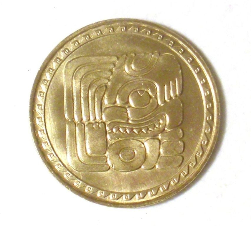 "UTCHI ""It Came To Pass"" Book of Mormon LDS Mayan glyph token coin"