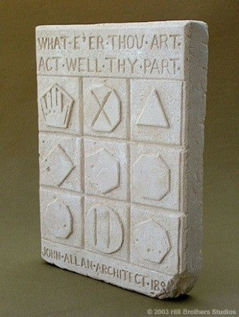 "The McKay Stone: ""What E're Thou Art, Act Well Thy Part"""