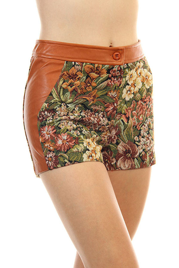 tapestry shorts