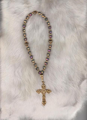 Gold Contemporary Anglican Rosary