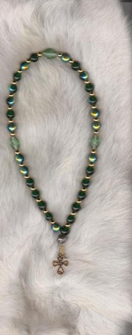 Irish Green Prayer Beads