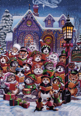 Purrfect Harmony Advent Calendar for counting down to Christmas