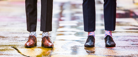 cool socks, spot socks, rock my socks, mens style, business socks