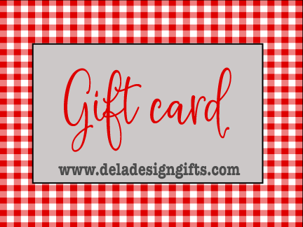 De La Design Gift Card - Clay Cutters and Pottery Stamps