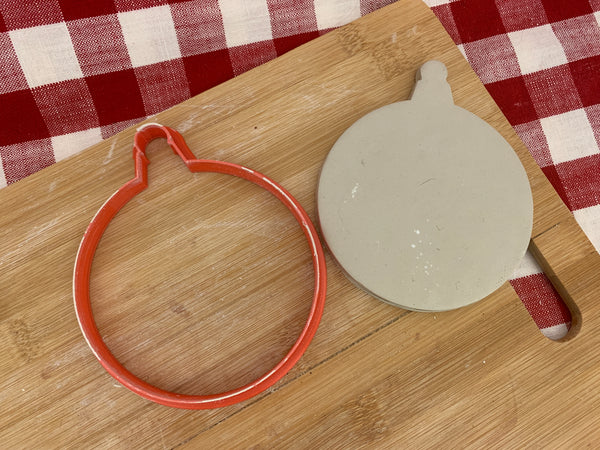 Cookie / Clay Cutter, Christmas Ornament design, Fondant, Clay, Pottery Tool, multiple sizes available