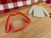 Cookie / Clay Cutter, Christmas Ornament Ugly Sweater design, Fondant, Clay, Pottery Tool, multiple sizes available