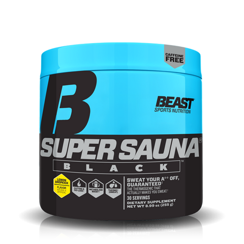 BEAST SPORTS SUPER SAUNA BLACK
