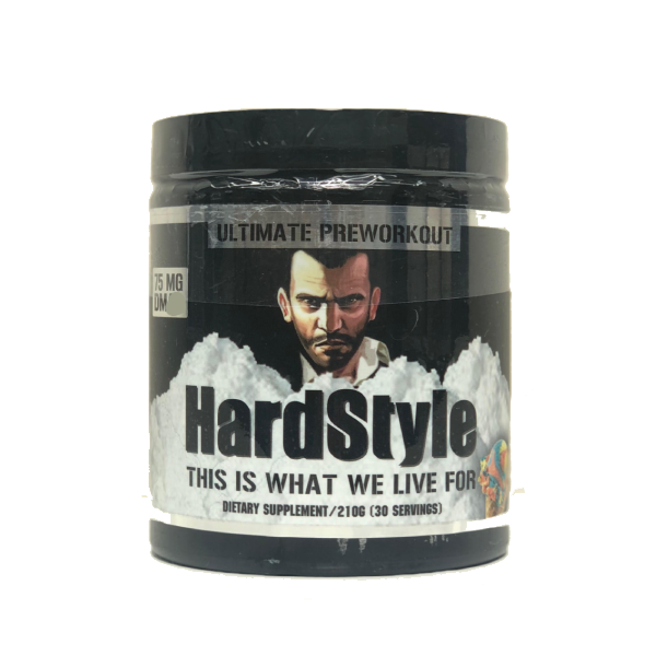 SPARTAN MUSCLE SCIENCE HARDSTYLES PRE-WORKOUT