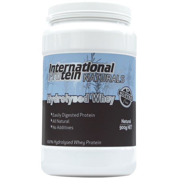 INTERNATIONAL PROTEIN NATURALS 100% HYDROLYSED WHEY
