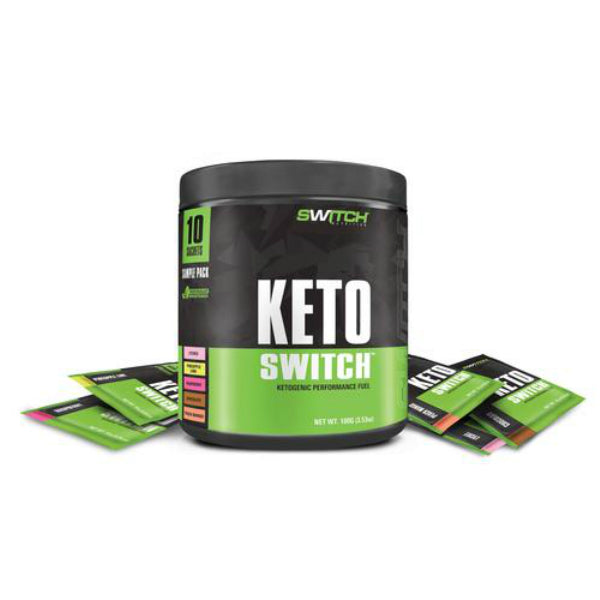 KETO SWITCH ASSORTED PACKS BY SWITCH NUTRITION