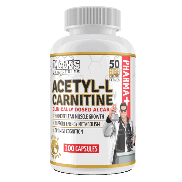 MAX'S LAB SERIES ACETYL L-CARNITINE