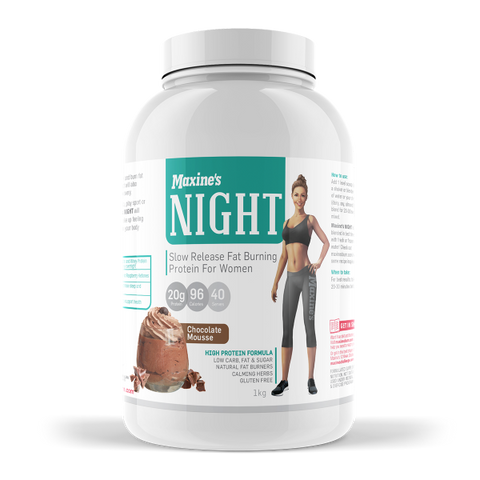 MAXINE'S NIGHT - THERMOGENIC NIGHT TIME PROTEIN BLEND