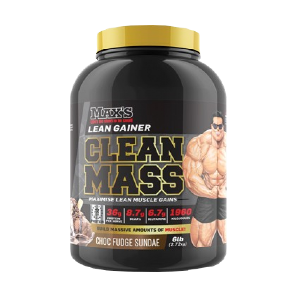 MAX'S CLEAN MASS GAINER