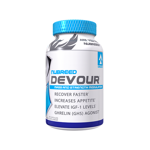 NUBREED NUTRITION DEVOUR MASS AND STRENGTH MODULATOR