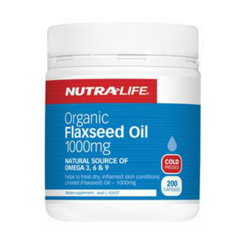 NUTRALIFE FLAXSEED OIL