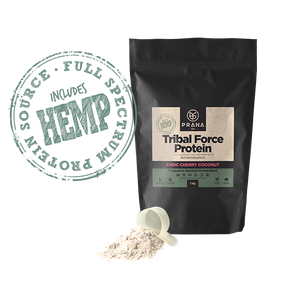 PRANA ON TRIBAL FORCE HEMP PROTEIN