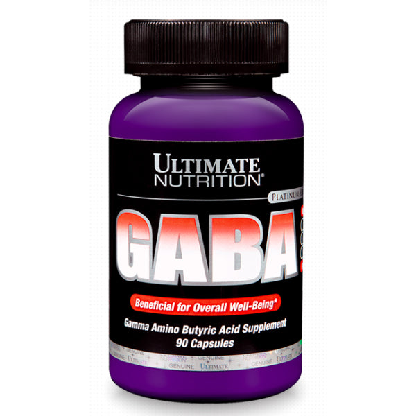 ULTIMATE NUTRITION GABA 750MG 90 CAPSULES