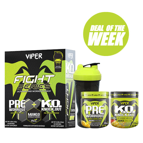 VIPER SERIES PRE-WORKOUT BOX
