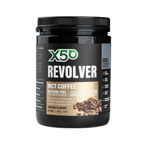 X50 REVOLVER MCT COFFEE