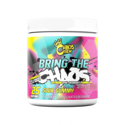 BRING THE CHAOS PRE WORKOUT BY CHAOS CREW