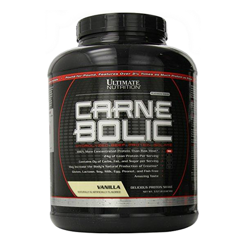 ULTIMATE NUTRITION CARNEBOLIC 100% BEEF PROTEIN ISOLATE