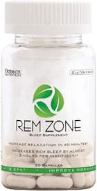 Ultimate Nutrition Rem Zone 30 Caps