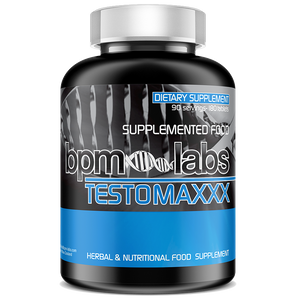 BPM LABS TESTOMAXX TESTOSTERONE BOOSTER