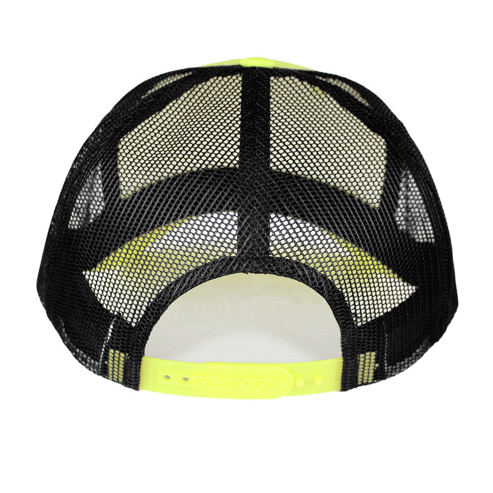 IBIZA CURVED SNAPBACK | NEON YELLOW